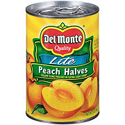 Del Monte Lite Peach Halves in Extra Light Syrup