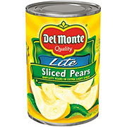 Del Monte Lite Sliced Pears in Extra Light Syrup