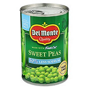 Del Monte Low Sodium Sweet Peas