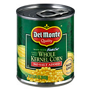 Del Monte No Salt Added Golden Sweet Whole Kernel Corn