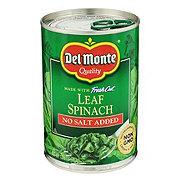 Del Monte No Salt Added Leaf Spinach