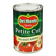 Del Monte No Salt Added Petite Cut Diced Tomatoes