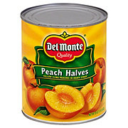 Del Monte Peach Halves in Heavy Syrup