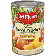 Del Monte Sliced Peaches in 100% Juice