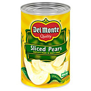 Del Monte Sliced Pears in Heavy Syrup