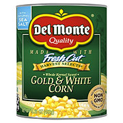 Del Monte Whole Kernel Gold and White Super Sweet Corn