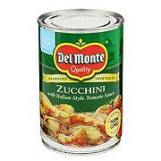 Del Monte Zucchini With Italian-Style Tomato Sauce