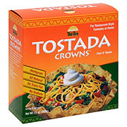 Del Oro 8 in Tostada Crowns