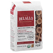 DeLallo 100% Organic Whole Wheat No. 92 Orecchiette Pasta