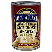 DeLallo Artichoke Hearts Quartered in Brine