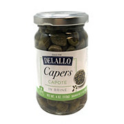 DeLallo Capote Capers in Vinegar with Salt