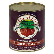 DeLallo Crushed Tomatoes in Heavy Juice with Basil