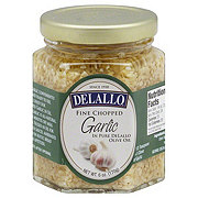 DeLallo Fine Chopped Garlic in Olive Oil
