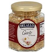 DeLallo Fine Chopped Garlic in Water