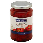 DeLallo Mild Roasted Red Peppers in Water