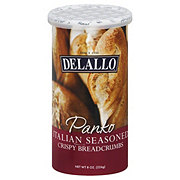 DeLallo Panko Italian Seasoned Crispy Breadcrumbs
