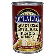 DeLallo Quartered Artichoke Hearts in Brine