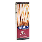 DeLallo Thin Grissini Torinese Style Breadsticks