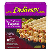 Delimex Beef and Cheese Flour Taquitos