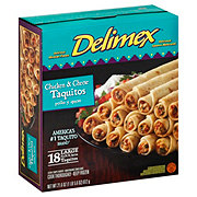 Delimex Chicken and Cheese Flour Taquitos