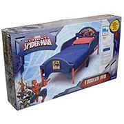 Delta Children Marvel Ultimate Spiderman Toddler Bed