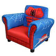 Delta Children Marvel Ultimate Spiderman Upholstered Chair
