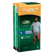 Depend Fit-flex Underwear Men's Extra Large Value Pack