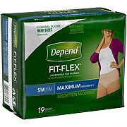 Depend For Women Maximum Absorbency Underwear, 19 ct