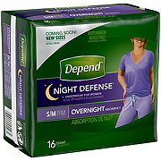 Depend Night Defense For Women, 16 ct