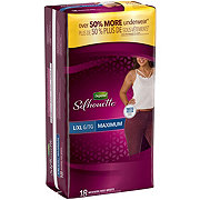 Depend Silhouette For Women Maximum Absorbency Briefs, 18 ct