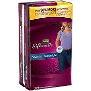 Depend Silhouette Underwear for Women, S/M