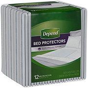 Depend Waterproof Bed Pads
