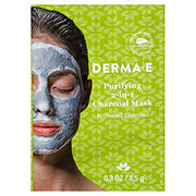 Derma E 2-in-1 Activated Charcoal Mask