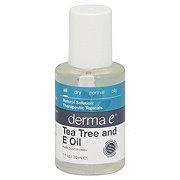 Derma E Tea Tree and Vitamin E Oil