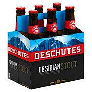 Deschutes Obsidian Stout  Beer 12 oz  Bottles