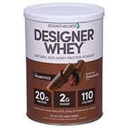 Designer Protein Designer Whey Natural 100% Whey Protein - Gourmet Chocolate