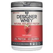 Designer Whey Protein Powder, Summer Strawberry