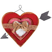 Destination Holiday Layerd Heart Wall Decoration