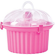 Destination Holiday Pink Cupcake Shaped Carrier
