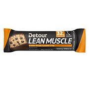 Detour Lean Muscle Cookie Dough Caramel Crisp Protein Bar