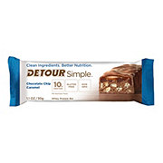 Detour Simple Chocolate Chip Caramel Whey Protein Bar
