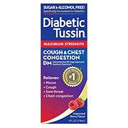 Diabetic Tussin DM Maximum Strength Liquid Cough Suppressant And Expectorant