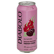 Diabolo Dragon Fruit Plum French Soda