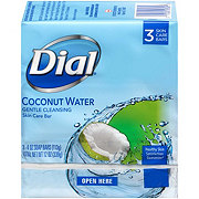 Dial Coconut Water And Bamboo Leaf Extract Glycerin Soap