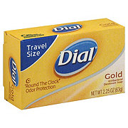 Dial Gold Deodorant Bar Soap Travel Size
