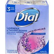 Dial Lavender & Twilight Jasmine Antibacterial Deodorant Soap