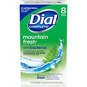 Dial Mountain Fresh Antibacterial Deodorant Soap 8 ct