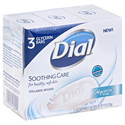 Dial Soothing Care Glycerin Soap Bars
