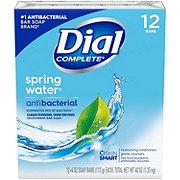 Dial Spring Water Antibacterial Deodorant Bar Soap 12 ct