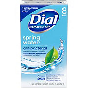 Dial Spring Water Antibacterial Deodorant Bar Soap 8 ct